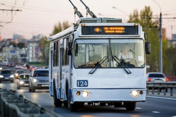 Сегодня троллейбусы будут ездить допоздна