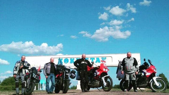Тюменские мотоциклисты решили доехать на байках до Монголии