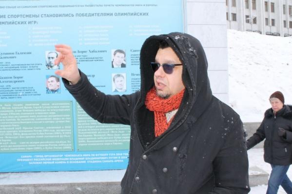 Дмитрий Храмов выступает против «стены плача»
