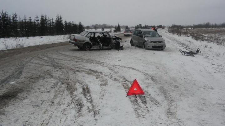В ДТП в Котласском районе пострадали пять человек