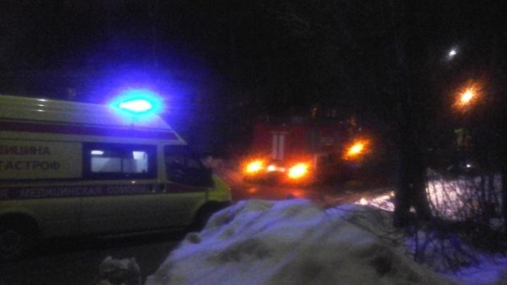 «Дверь была, как кипяток»: ярославские пожарные спасли из огня двоих человек