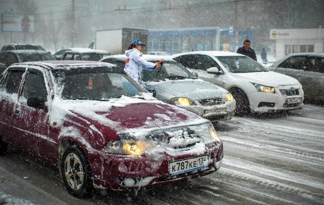 В Челябинске и области обещают снег с дождём и метель