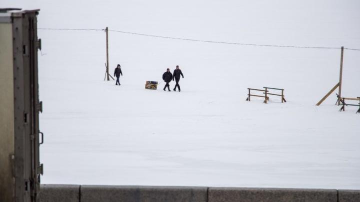 Архангелогородцам разрешили гулять по Северной Двине