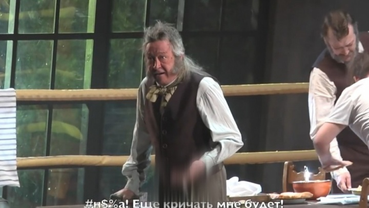 Появилось видео скандального инцидента с участием актера Михаила Ефремова в Самаре