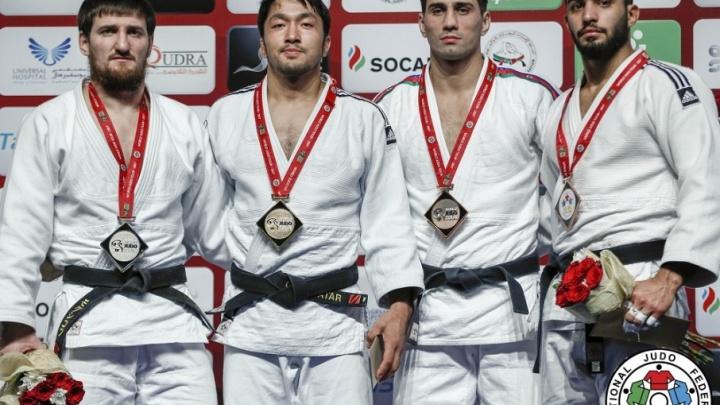 Тюменский дзюдоист Муса Могушков стал серебряным призером международного турнира в Абу-Даби