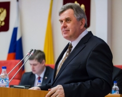 Сергей Ястребов отчитался перед Облдумой