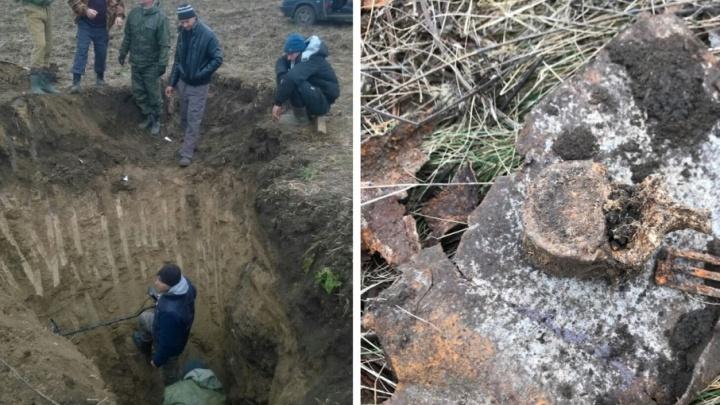 На Дону нашли останки 18-летнего солдата Великой Отечественной войны