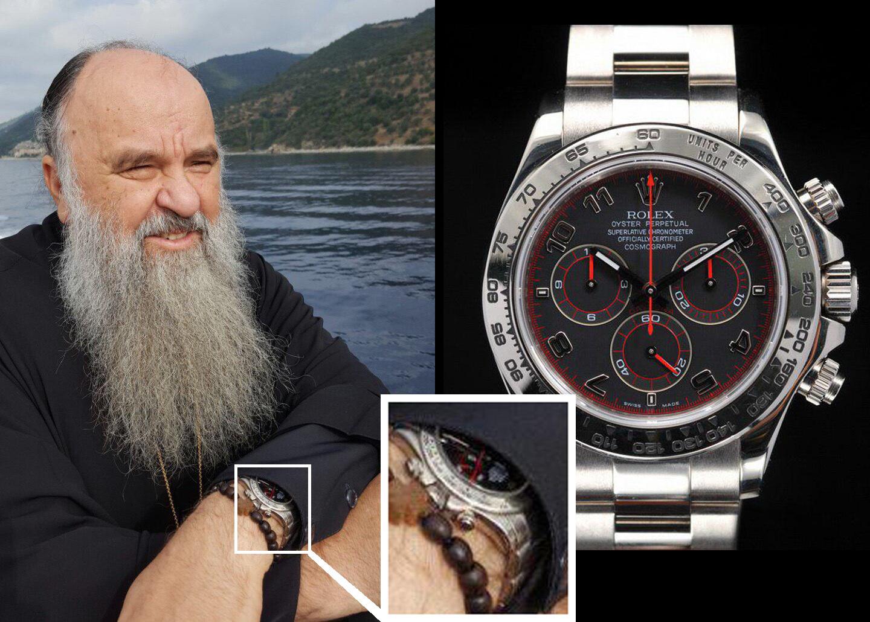 Митрополит Варсонофий и часы Rolex Daytona 116509