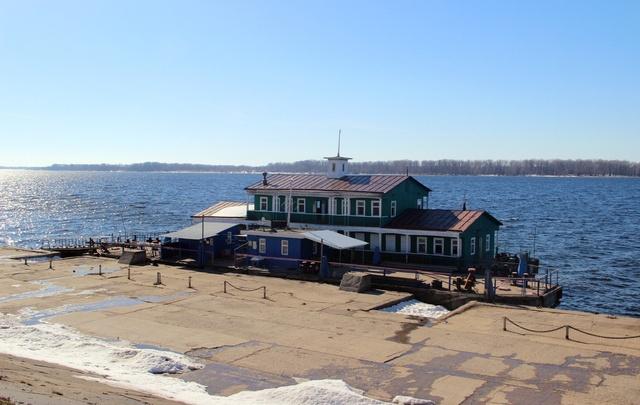 В Самаре для пассажиров пристани «Поляна Фрунзе» организуют зону комфорта
