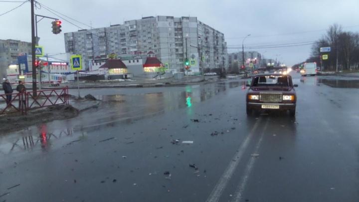 В Ярославле нашли водителя, покалечившего человека в ДТП