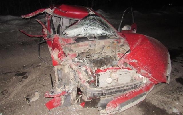 Два человека пострадали при столкновении Chevrolet Lanos и Hyundai в Краснокамске