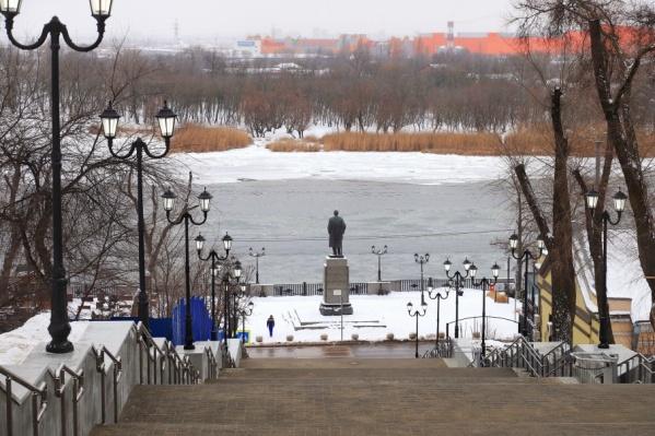 Лестница может стать одной из любимых туристических достопримечательностей Ростова