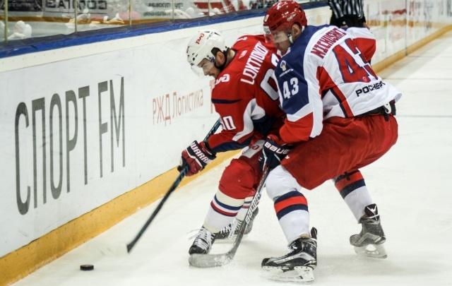 «Локомотив» разгромил дома ЦСКА и сравнял счет в серии