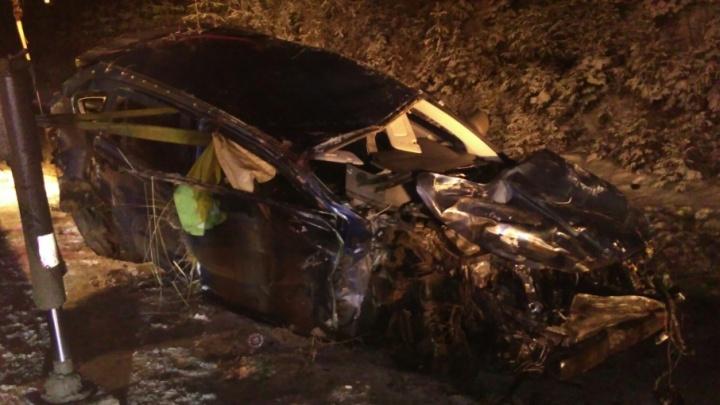 В массовой аварии на Восточном обходе Перми погибла девушка