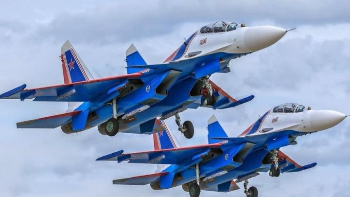 «Русские витязи» устроят авиашоу в небе над Ярославлем