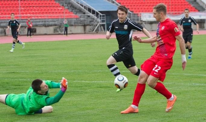 Тюменские футболисты проиграли заключительный выездной матч сезона