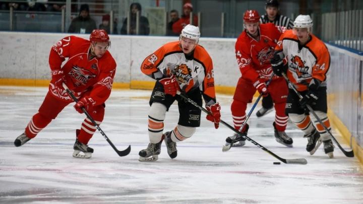 ХК «Ростов» одержал волевую победу над нижнетагильскими хоккеистами