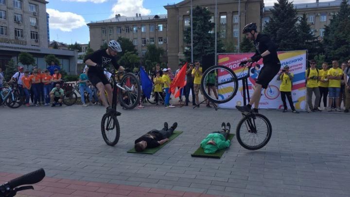 В волгоградском велопараде приняли участие почти 1000 человек