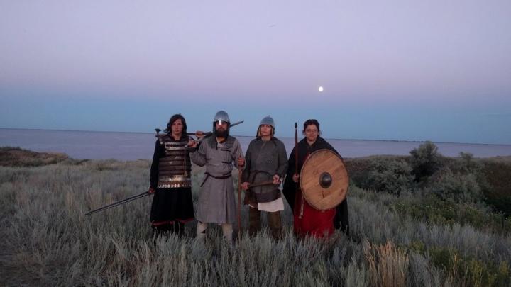 Волгоградцы путешествовали по средневековому Городищу и знакомились с культурой Золотой Орды