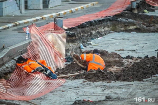 В Батайске рабочие нашли снаряд времен ВОВ