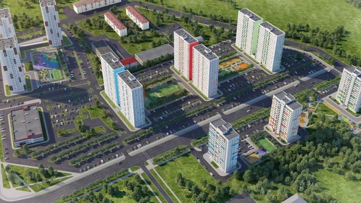 Перспективная Тюмень: недалеко от центра начали строить масштабный микрорайон