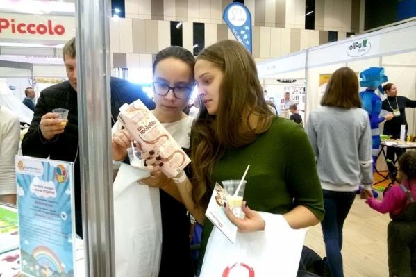 Продукция «Садов Придонья» вызвала большой интерес у участников выставки