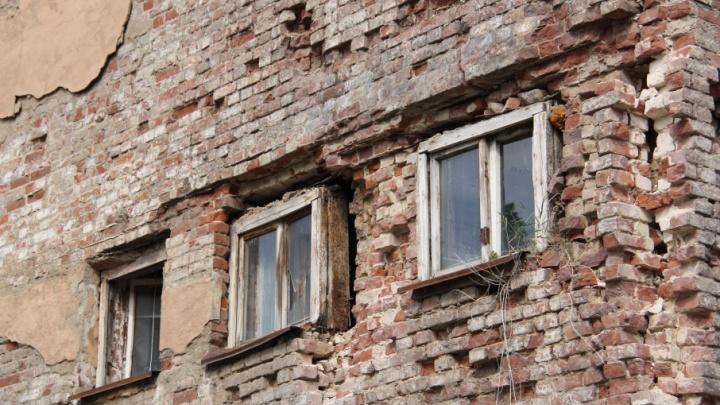 В общежитии Тракторозаводского района Волгограда обрушились стены