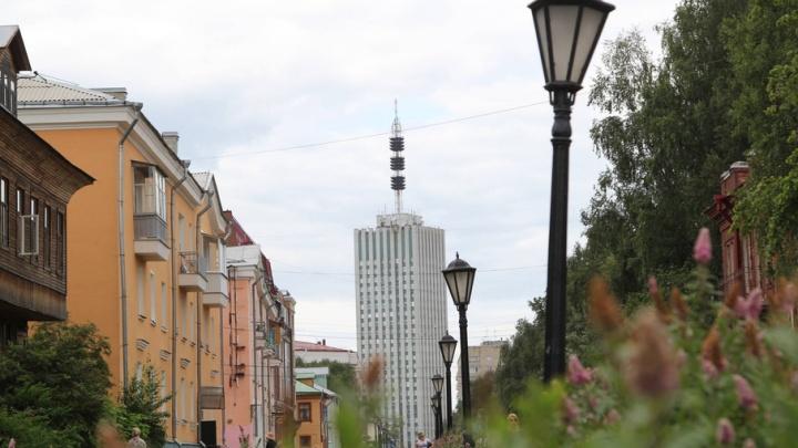 Сегодня теплую погоду Архангельска дождь не испортит
