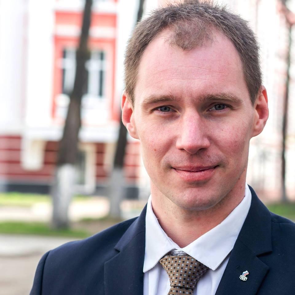 Павел Судаков - главный тренер сборной Ярославля по плаванию