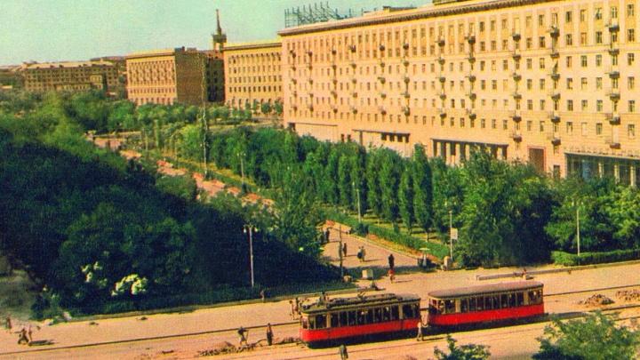 Станция конечная: смотрите уникальные фото старых трамваев Волгограда