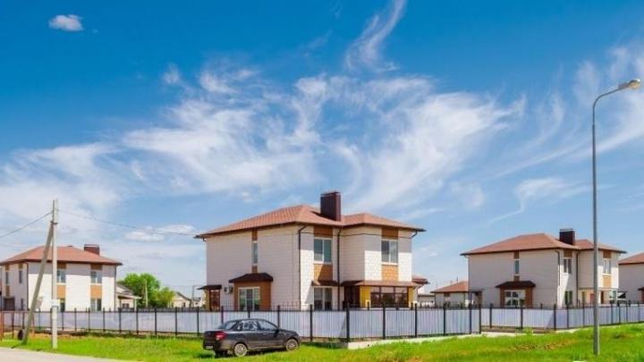 В Котельниково появился новый жилой район повышенной комфортности