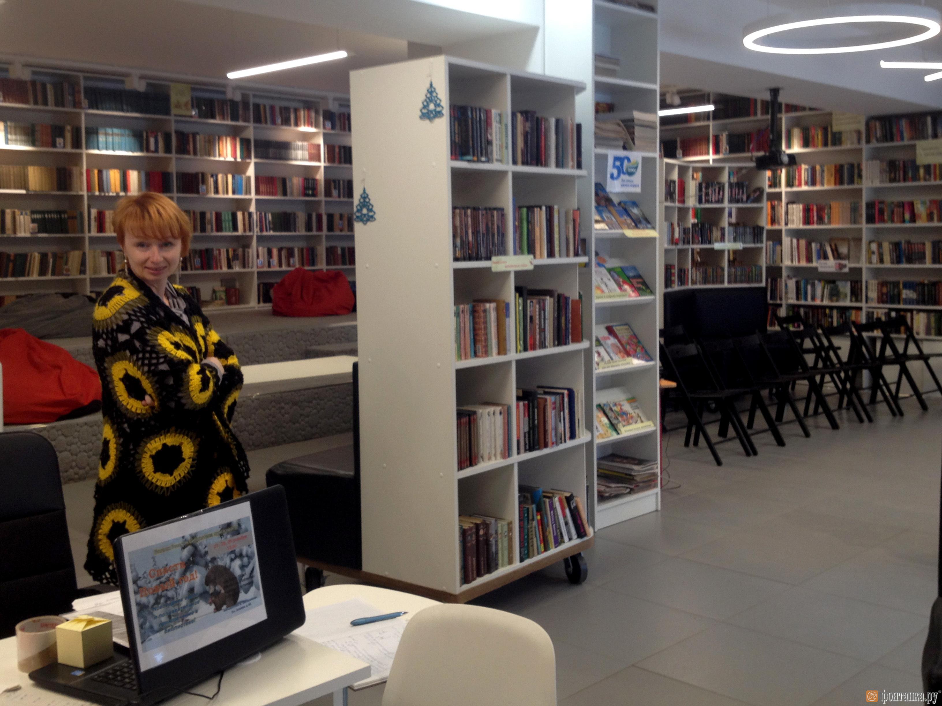 Ольга Андон, заведующая библиотекой