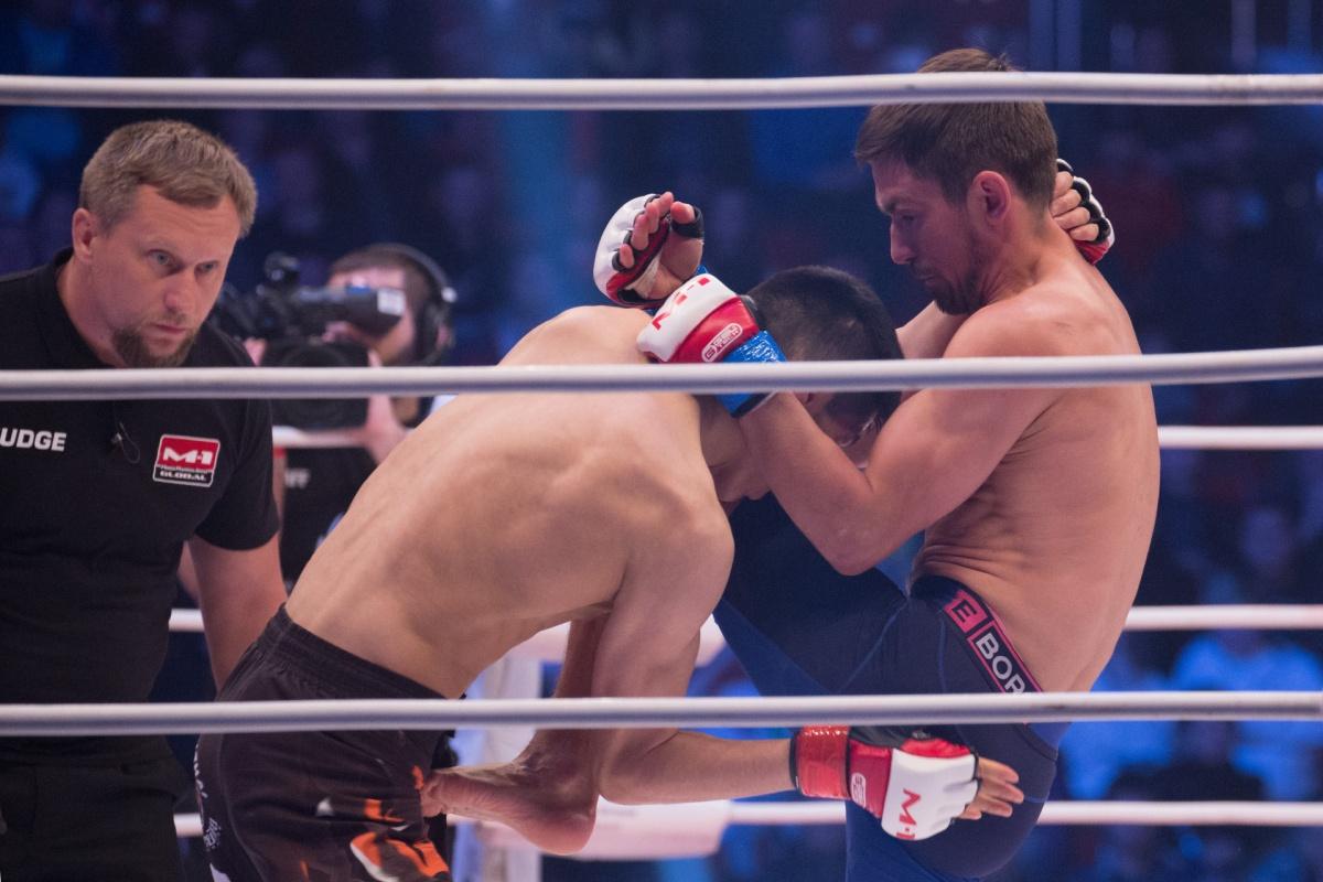 Впечатляющий бой Силандера и Айдарова