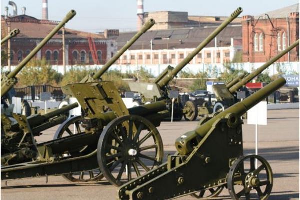 Такие орудия делались на заводе
