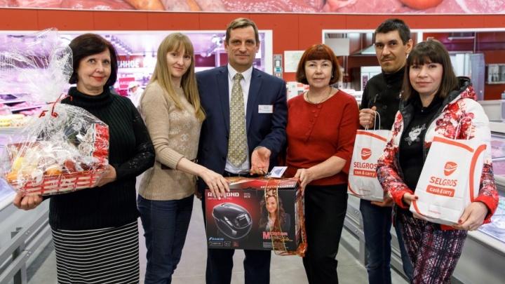 Конкурс новогодних рецептов завершился праздничными сюрпризами от торгового центра «Зельгрос»