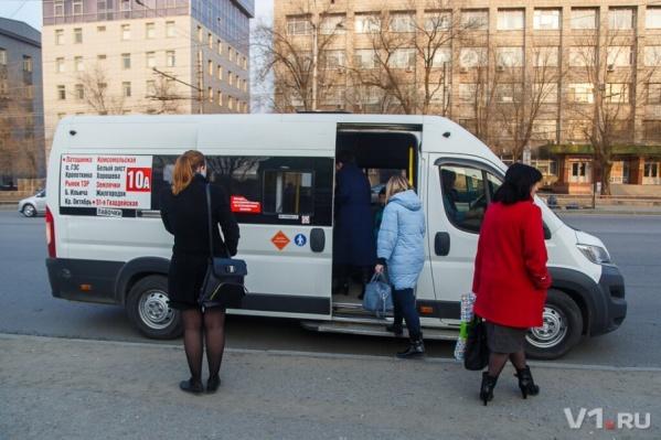 Волгоградцы тщетно ждут на остановках маршрутку 10А