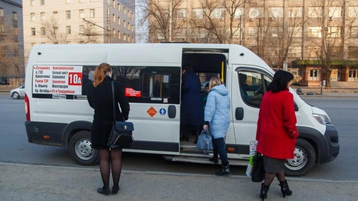 Надзорные органы «закошмарили» маршрутку №10А в Волгограде