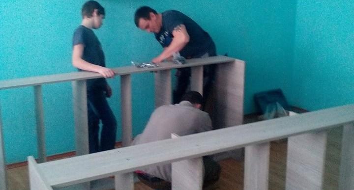 Для свердловского детского дома, руководство которого запрещало собирать деньги, закупили мебель