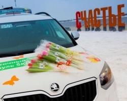 Авто Республика, официальный дилер ŠKODA, поздравил дам с 8 марта