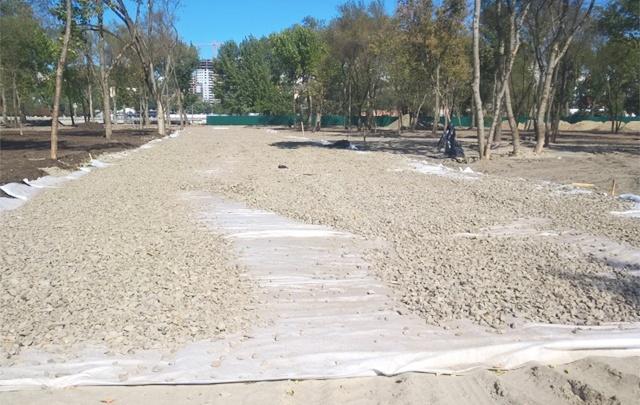 В Ростове на Левом берегу началось благоустройство пляжа