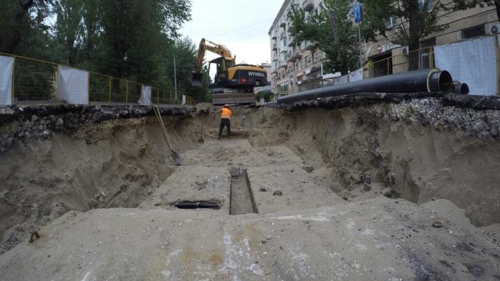 В Ворошиловском районе Волгограда до 1 сентября закрывают три улицы