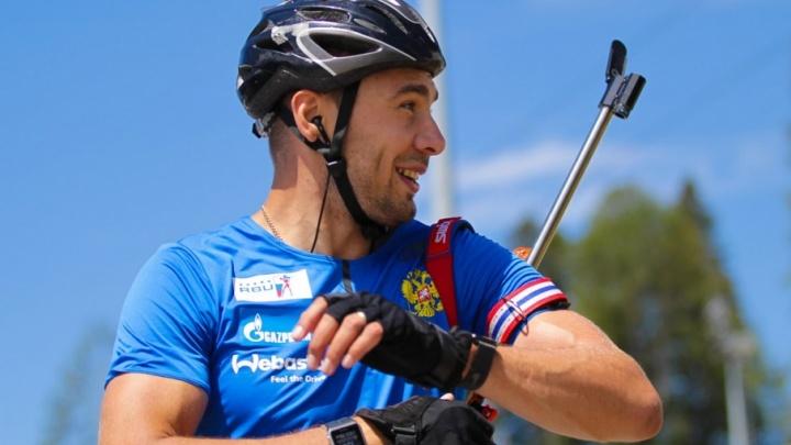 Антон Шипулин и три тюменских биатлониста выступят на летнем чемпионате мира