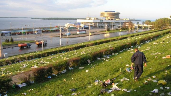 Волгоград признан одним из самых грязных городов России