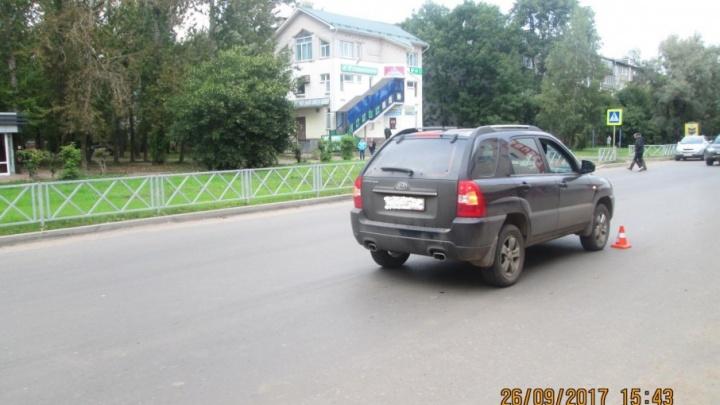Женщина на иномарке покалечила подростка, перебегавшего дорогу