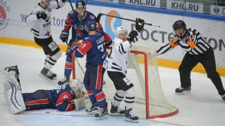 «Трактор» одержал победу над «Торпедо» в Нижнем Новгороде