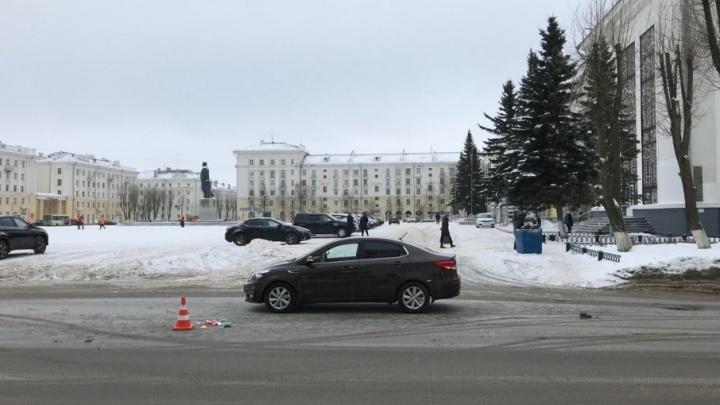 В Северодвинске пенсионерка попала под колеса иномарки