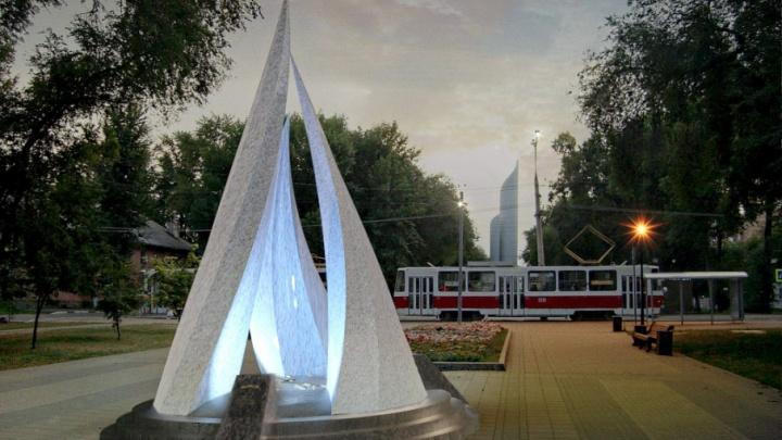 Языки пламени: на проспекте Юных Пионеров установят светящуюся шестиметровую стелу