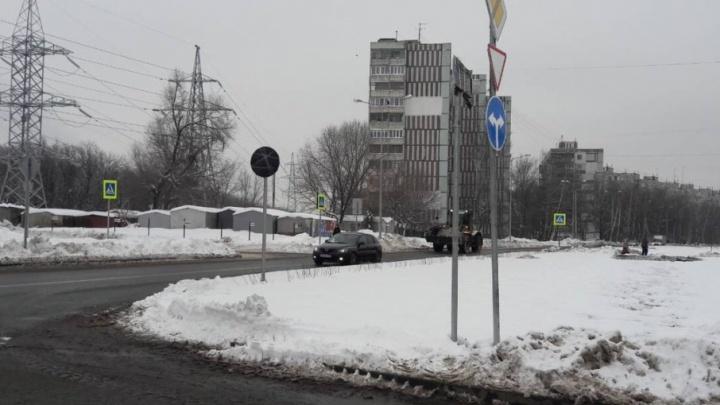 Здание на Ташкентской после реконструкции дороги осталось без заезда