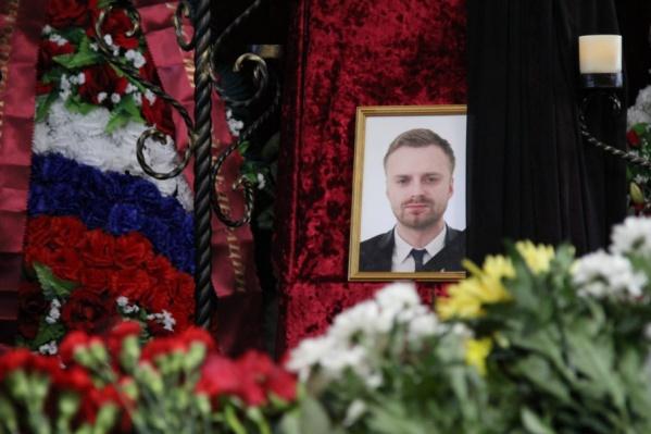 Дмитрий Рунков был похоронен на Вологодском кладбище