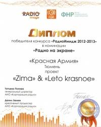 «Красная Армия» – победитель всероссийского конкурса «РадиоИмидж»